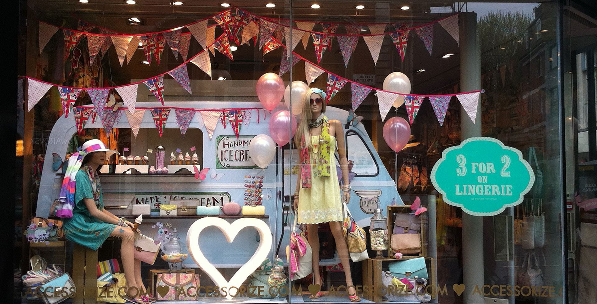 Accessorize Ice Cream Window