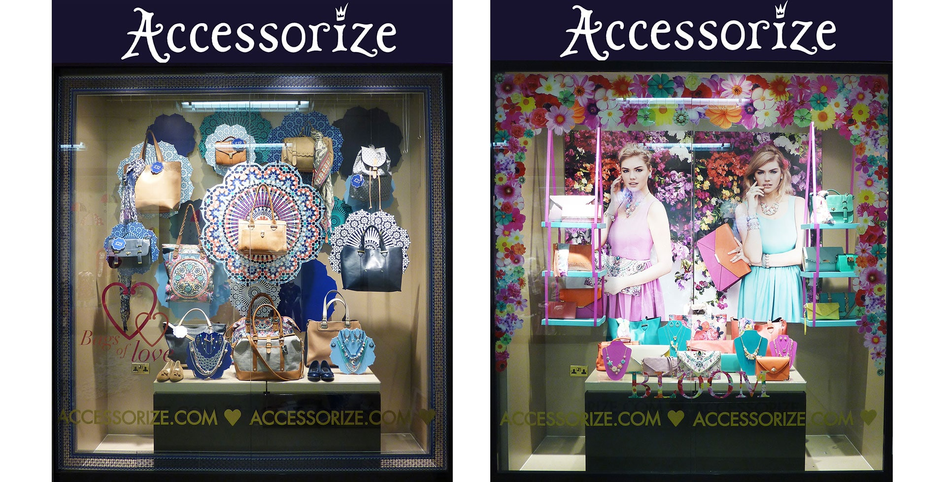 Accessorize windows