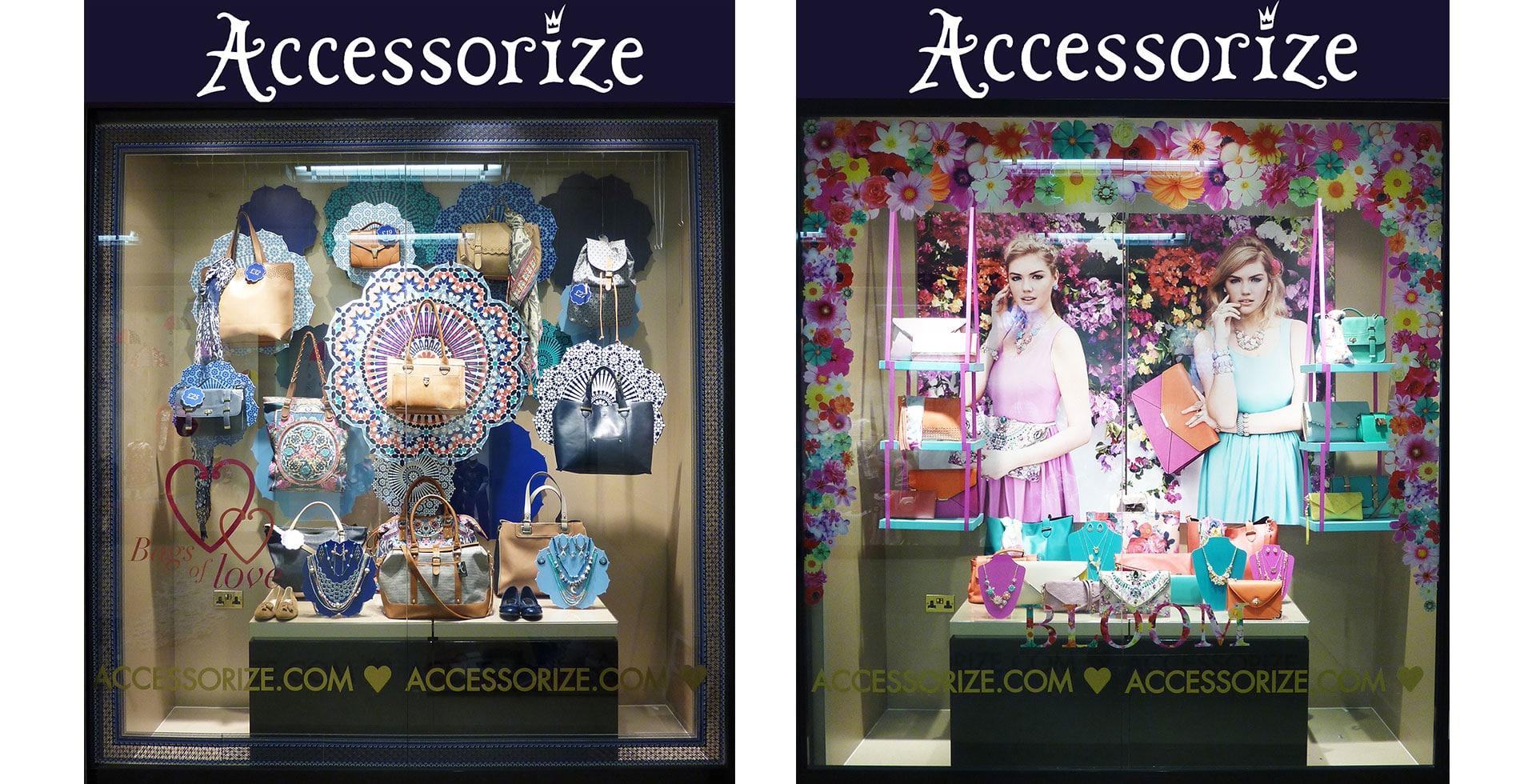 Accessorize windows