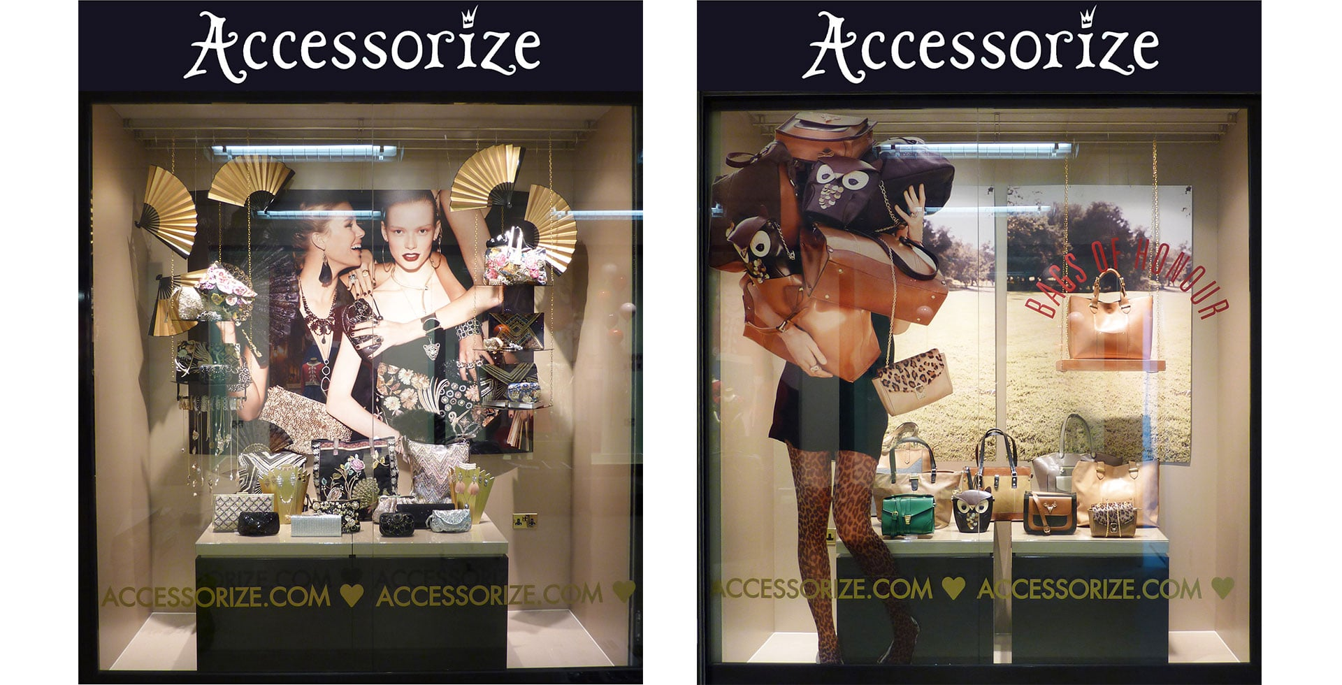 Accessorize Autumn windows