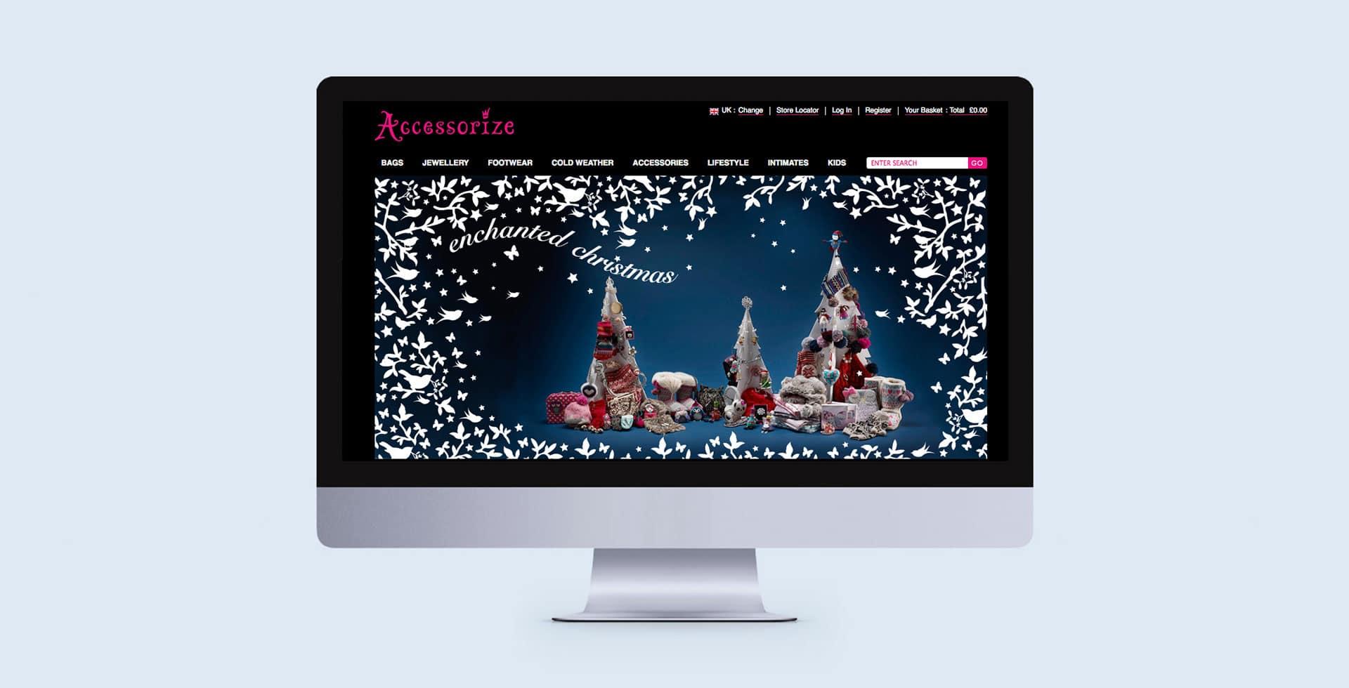 Accessorize Christmas 2011 creative