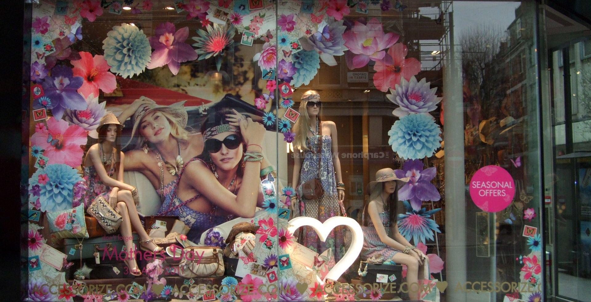 Accz floral window