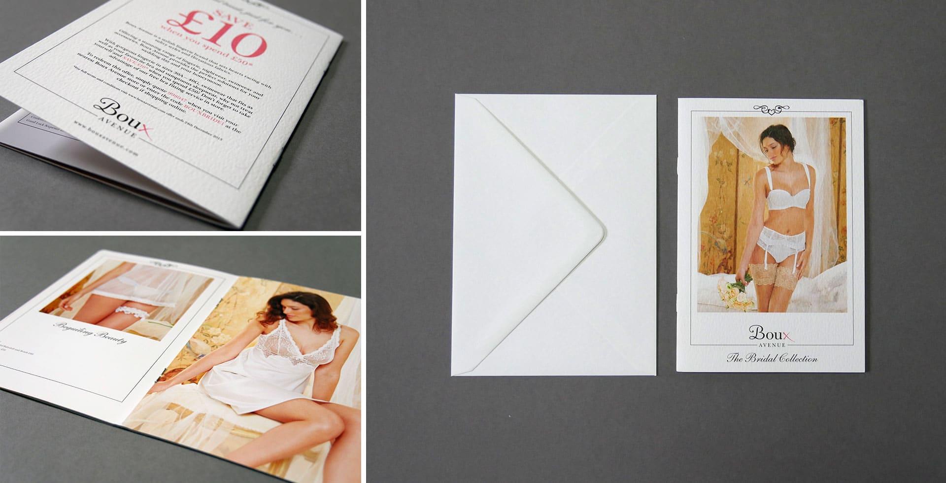 Boux Avenue Bridal brochure