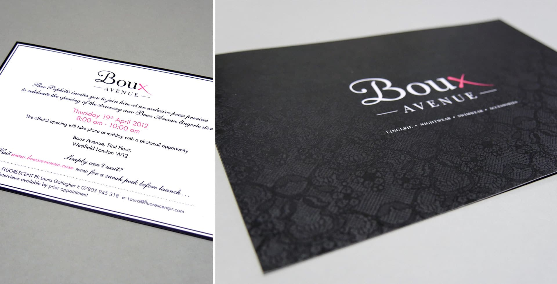 Boux Avenue Press Invite