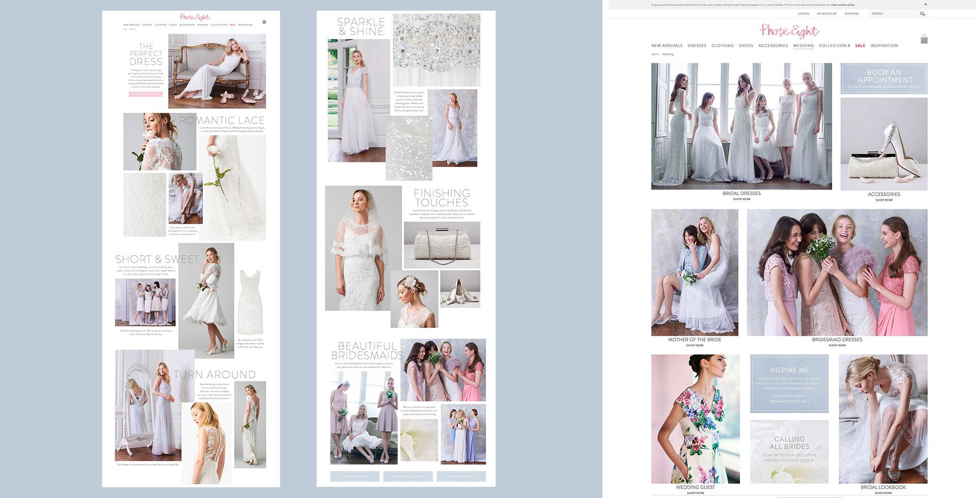 Bridal Ecommerce Campaign