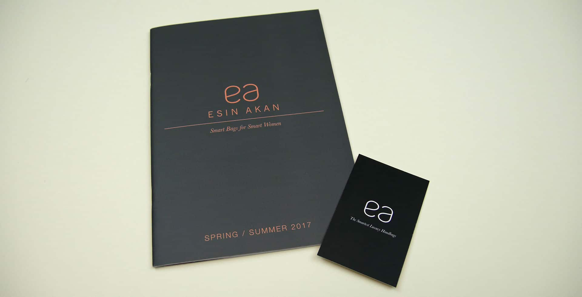 Esin Akan SS17 Look book and Business Cards