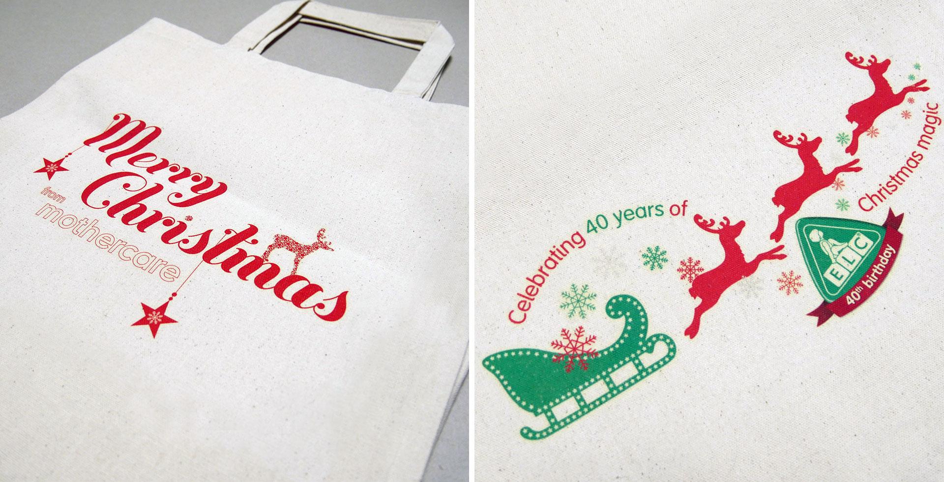Mothercare Christmas gift bags
