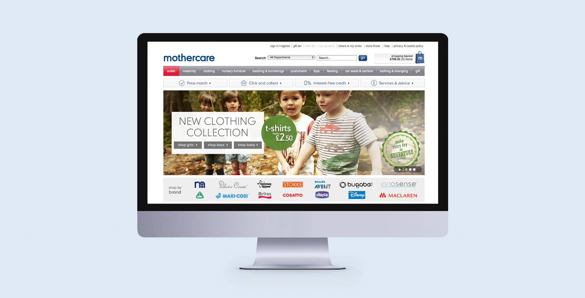 Mothercare Spring campaign