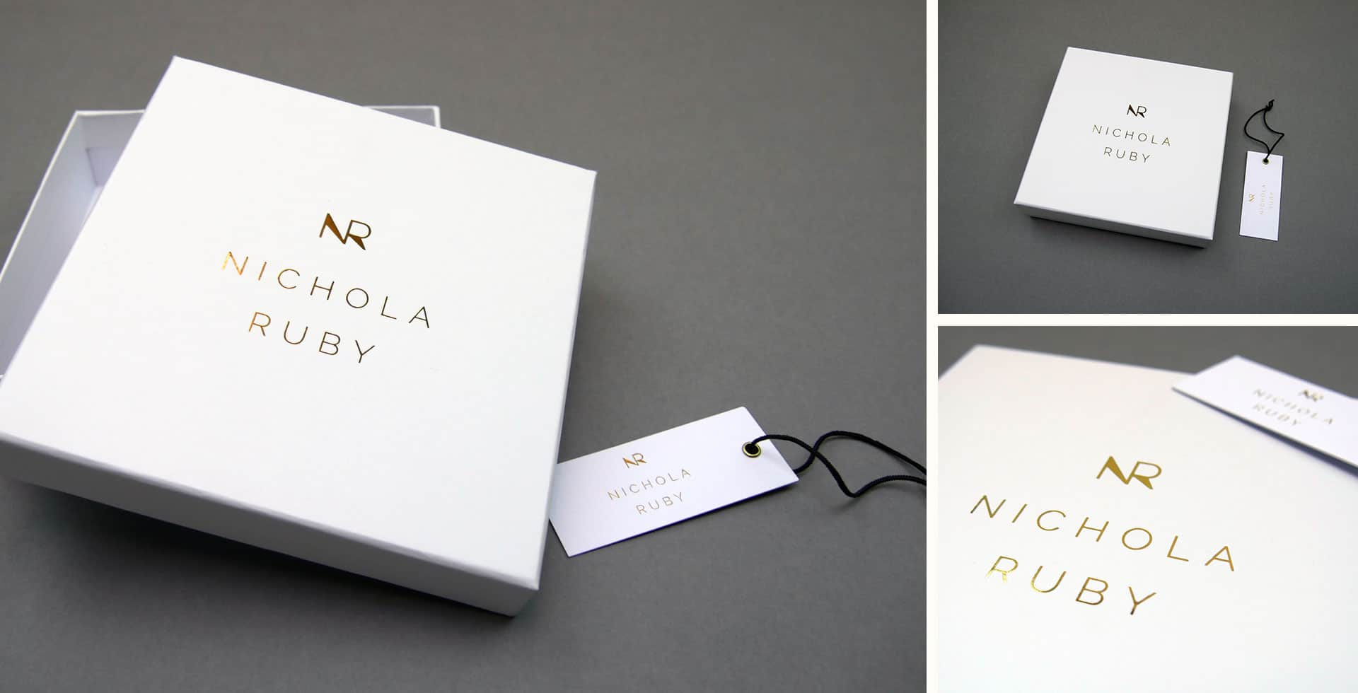 Nichola Ruby packaging and product tags