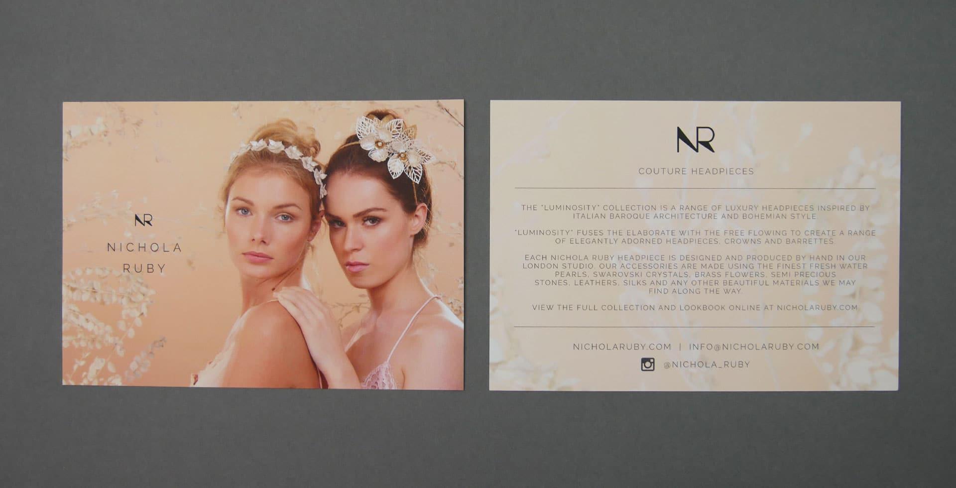 Nichola Ruby Postcard