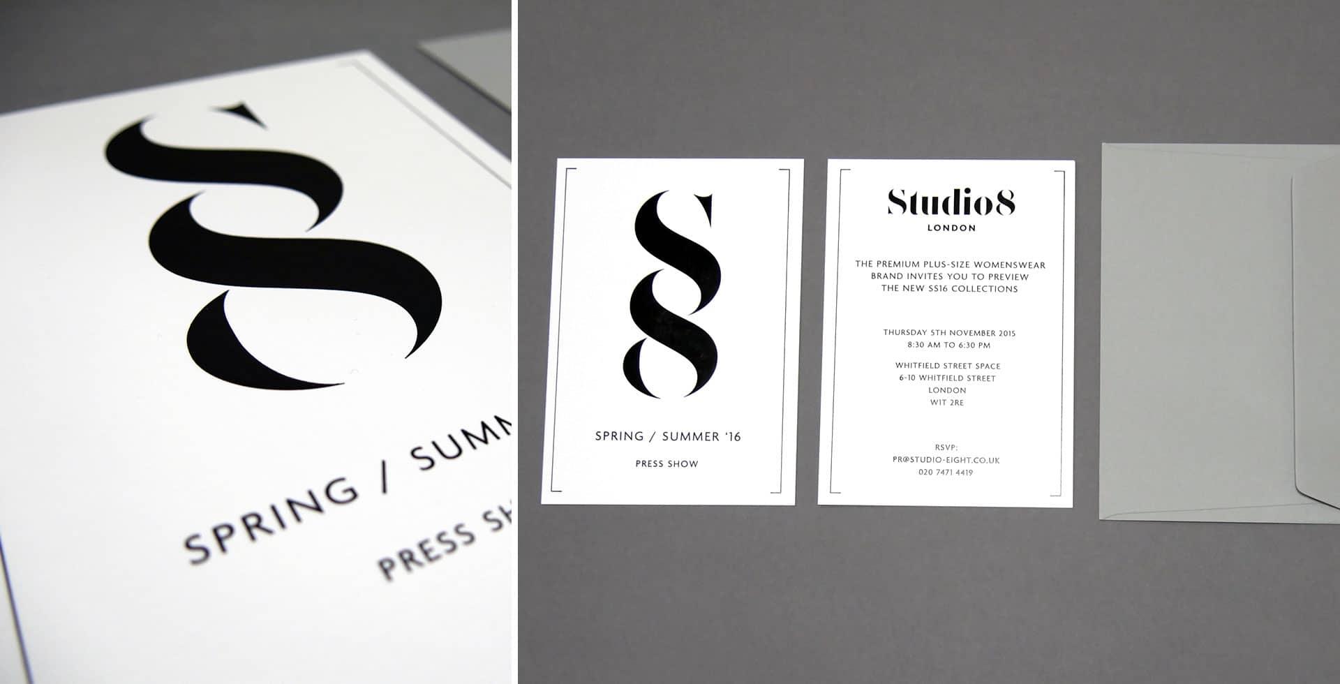 Studio 8 Invite