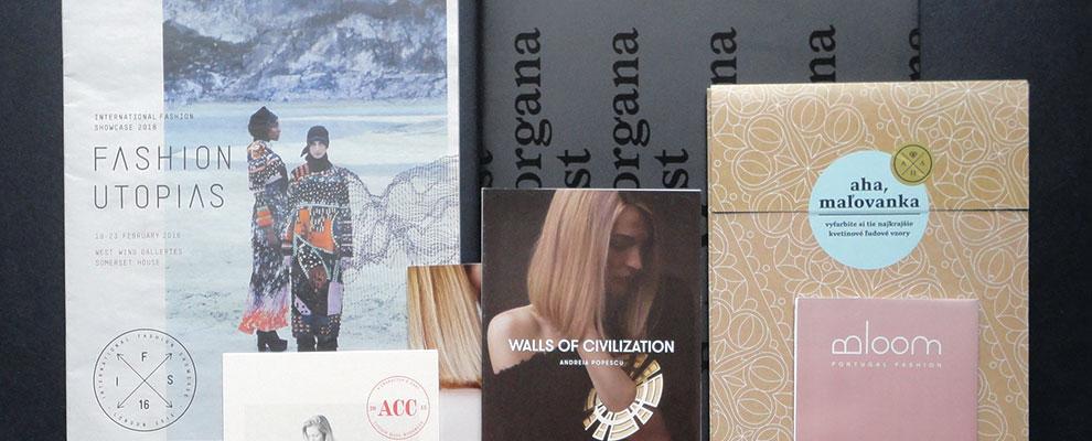 Fashion Utopias Leaflet Collection