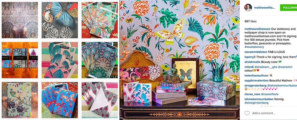Matthew Williamson designs