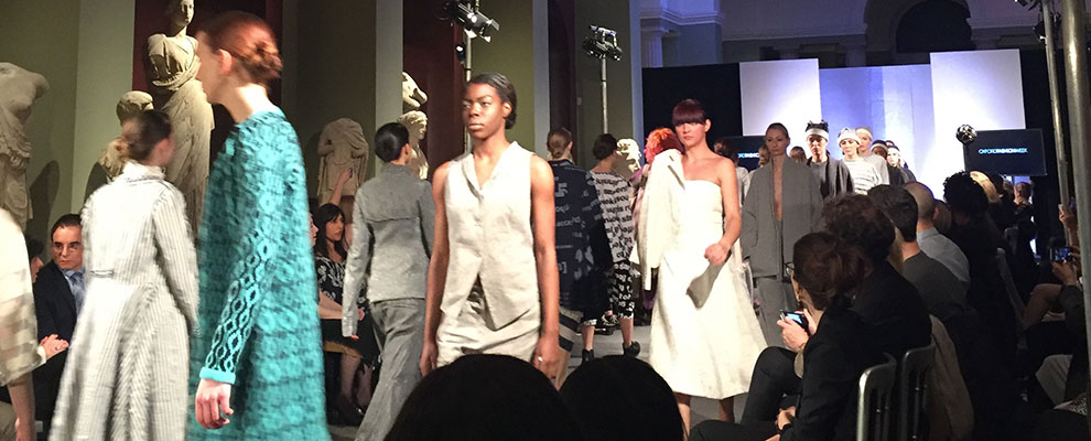 Oxford Fashion Show finale