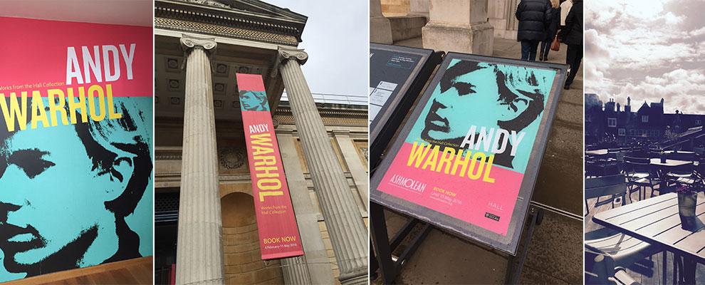 Warhol at the Ashmolean
