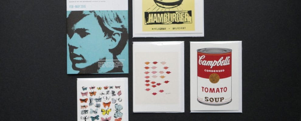 Warhol postcards