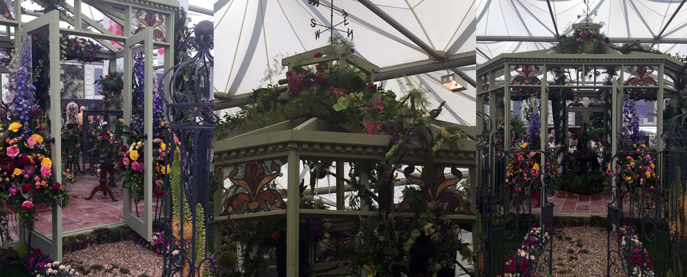 Victorian Conservatory details