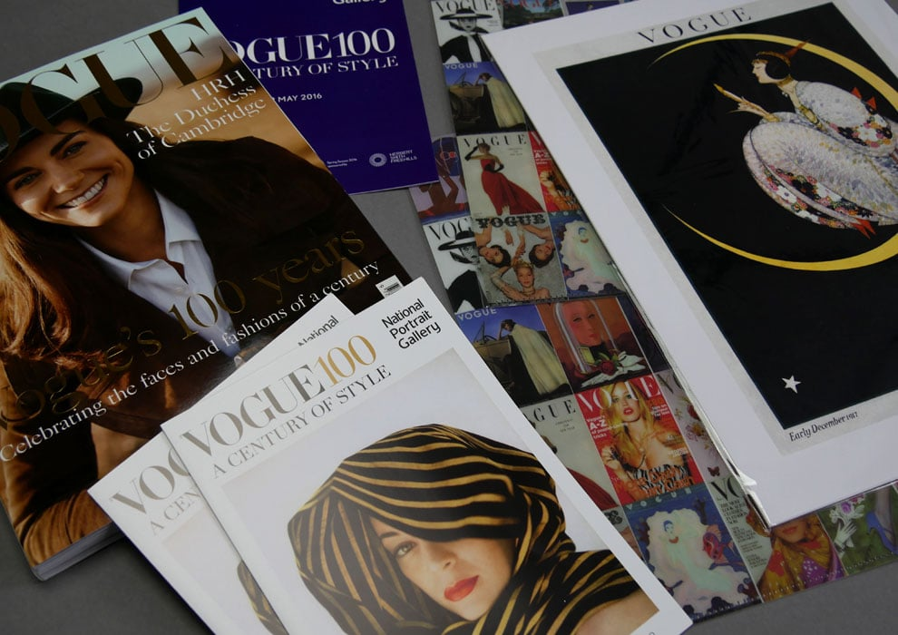 Vogue 100 purchases