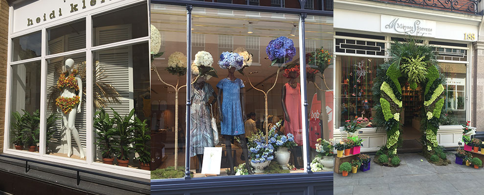 More floral windows