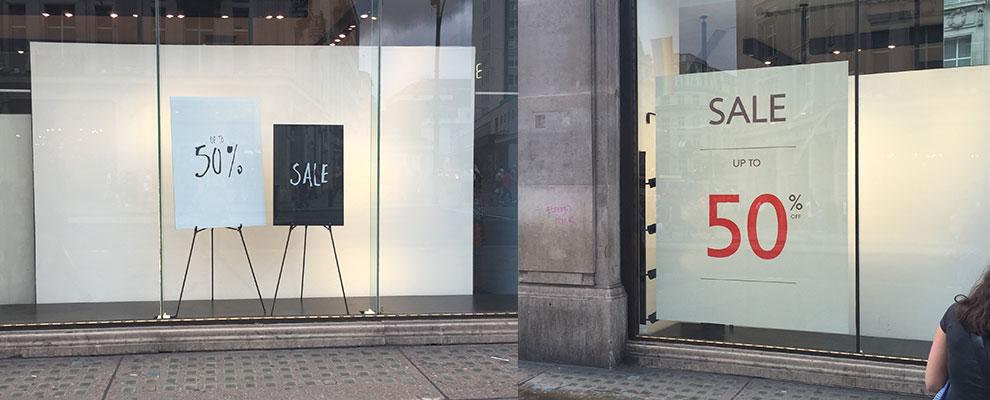 Minimalist Sale