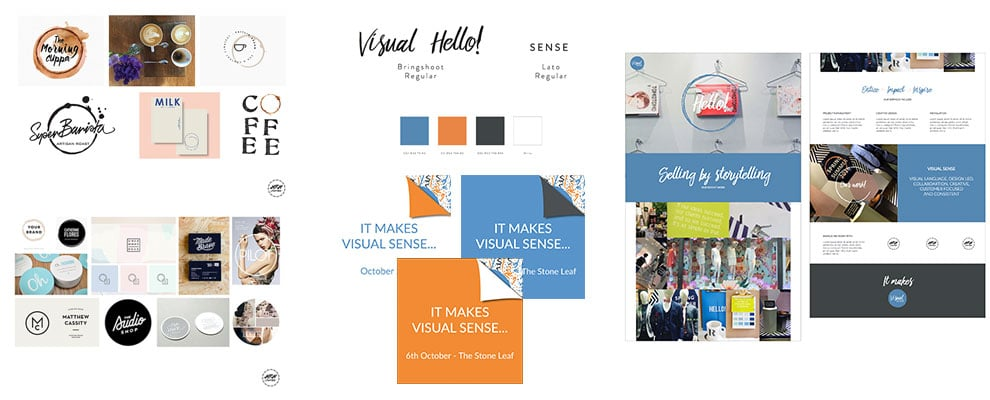 Visual Sense re-branding